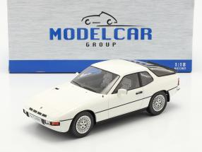 Porsche 924 Turbo year 1979 white 1:18 Model Car Group