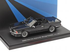 BMW 635 CSi Alpina B7 Mirage Classic 1985 schwarz 1:43 AutoCult