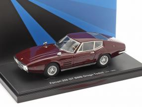 Ferrari 250 GT SWB Drogo Tadini year 1968 dark red 1:43 AutoCult