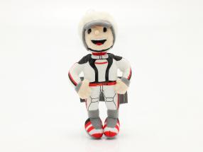 Porsche Plush figure Tom Targa 16 cm white / black / red