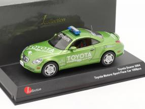 Toyota Soarer Toyota Motorsports Safety Car 2004 green 1:43 JCollection