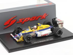 Martin Brundle Williams FW12 #5 Belgium GP Formula 1 1988 1:43 Spark