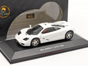 McLaren F1 GTR year 1996 white 1:43 Ixo