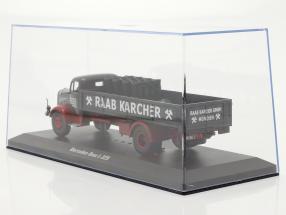 Mercedes-Benz L-325 Raab Karcher with Load dark grey / red 1:43 Ixo / 2nd choice