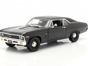 Chevrolet Yenko Nova year 1969 black 1:18 AutoWorld