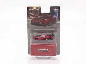 Koenigsegg Agera RS year 2015 red / black 1:64 Tarmac Works