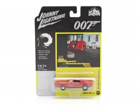 Ford Mustang Mach 1 James Bond Diamonds Are Forever (1971) red 1:64 Johnny Lightning