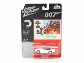 Toyota 2000GT James Bond You only live twice (1967) White 1:64 Johnny Lightning