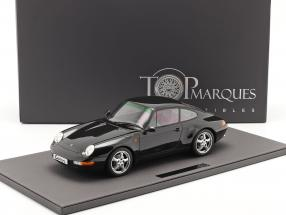Porsche 911 (993) Carrera 2 year 1994 black 1:12 TopMarques