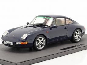 Porsche 911 (993) Carrera 2 year 1994 dark blue metallic 1:12 TopMarques