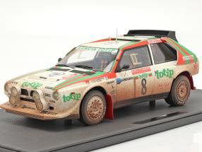 Lancia Delta S4 #8 2nd Rallye SanRemo 1986 Dirty Version 1:12 TopMarques
