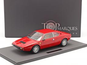 Ferrari Dino 308 GT4 Coupe year 1973 red 1:12 TopMarques