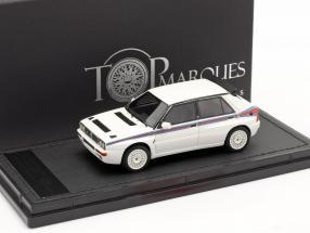 Lancia Delta HF Integrale Evo 5 Martini year 1992 white 1:43 TopMarques