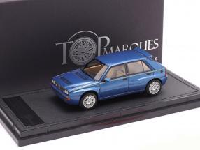 Lancia Delta HF Integrale Evo 2 year 1992 lagos blue metallic 1:43 TopMarques