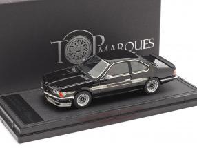 BMW 6 series Alpina B7 S Turbo Coupe (E24) 1985 black 1:43 TopMarques