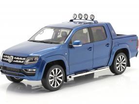 Volkswagen VW Amarok Aventura year 2019 blue metallic 1:18 DNA Collectibles