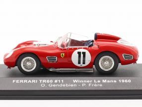 Ferrari TR60 #11 Winner 24h LeMans 1960 Gendebien, Frere