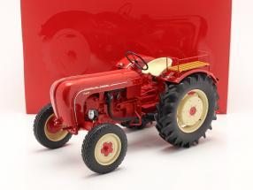 Porsche Super tractor year 1958 red 1:8 Minichamps