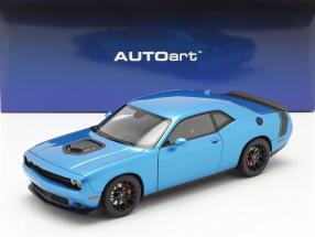 Dodge Challenger 392 Hemi Scat Pack Shaker year 2018 blue 1:18 AUTOart