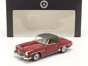 Mercedes-Benz 190 SL (W121) year 1955-63 medium red 1:18 Norev