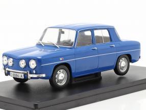 Renault 8 TS year 1968 blue 1:24 Altaya