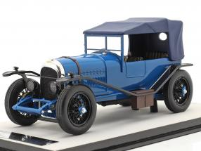 Bentley 3L Street version closed year 1924 blue 1:18 Tecnomodel