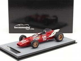 Mike Parkes Ferrari 312/66 #10 German GP formula 1 1966 1:18 Tecnomodel