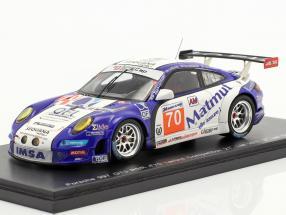 Porsche 911 GT3 RSR #70 Labre 2nd GTE AM class 24h LeMans 2011 1:43 Spark