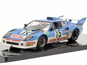Ligier JS2 Maserati #15 24h Le Mans 1974 Lafitte, Serpaggi 1:43 Ixo