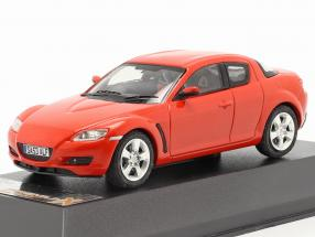 Mazda RX-8 Year 2003 red 1:43 Premium X