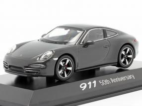 Porsche 911 (991) gray 50 Years Porsche 911 Edition 1:43 Welly