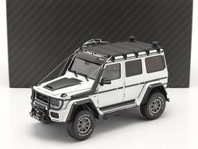 Brabus 550 Adventure Mercedes-Benz G-class 4x4² 2017 white 1:18 Almost Real