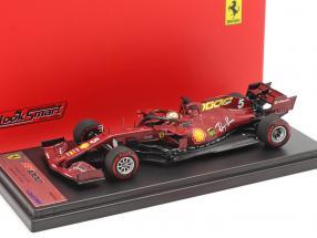 S. Vettel Ferrari SF1000 #5 1000th GP Ferrari Tuscany GP F1 2020 1:43 LookSmart