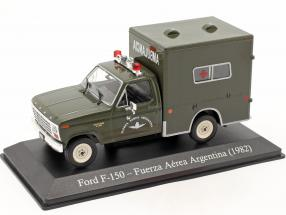 Ford F-150 Military ambulance Argentina year 1982 dark olive 1:43 Altaya