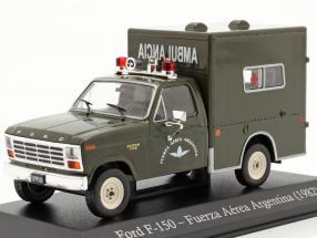 Ford F-150 Military ambulance Argentina year 1982 dark olive 1:43 Altaya