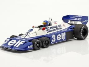 Ronnie Peterson Tyrrell P34 six wheels #3 Brazilian GP formula 1 1977 1:18 Spark