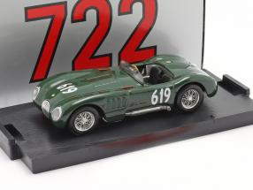 Jaguar C-Type #619 Mille Miglia 1952 Moss, Dewis 1:43 Brumm