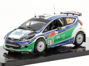 Ford Fiesta S2000 #28 X.Pons / A.Haro Winner S-WRC Mexico Rally 2010 1:43 Ixo