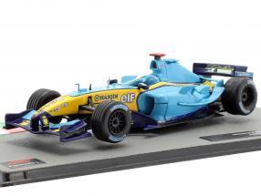 Jarno Trulli Renault R24 #7 formula 1 2004 1:43 Altaya