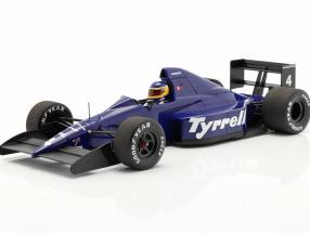 Michele Alboreto Tyrrell 018 #4 3rd Mexican GP formula 1 1989 1:18 Minichamps