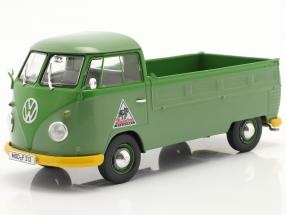 Volkswagen VW Type 2 T1b Pickup truck with Plans green 1:32 Schuco
