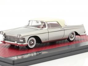 Cadillac Skylight Pininfarina Closed Convertible 1959 silver 1:43 Matrix