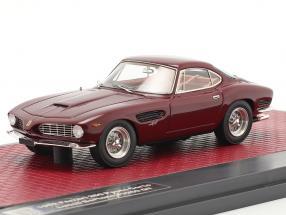 Ferrari 250 GT Berlinetta Passo Corto Lusso Bertone 1962 maroon 1:43 Matrix