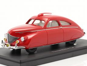 Thomas Rocket Car year 1938 red 1:43 AutoCult
