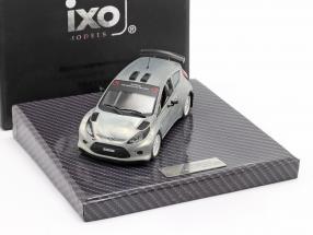 Ford Fiesta S2000 Toy Fair Nürnberg 2011 silver 1:43 Ixo