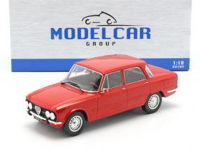 Alfa Romeo Giulia Nova Super year 1974 red 1:18 Model Car Group