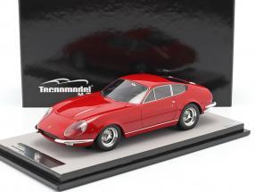 Ferrari 365 GTB/4 Daytona Prototipo 1967 red 1:18 Tecnomodel