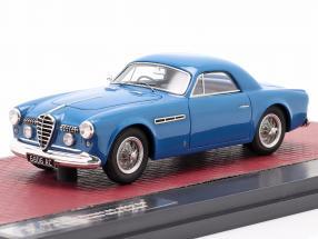 Alfa Romeo 6C 2500 SS Supergioiello Ghia Coupe 1950 blue 1:43 Matrix
