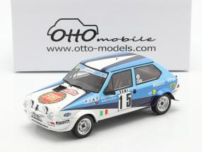 Fiat Ritmo 75 Abarth #15 6th Rallye Monte Carlo 1980 1:18 OttOmobile