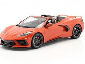 Chevrolet Corvette C8 Cabriolet year 2020 Sebring orange  GT-Spirit